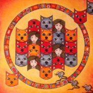 Verre vervolg Mandala tekenen
