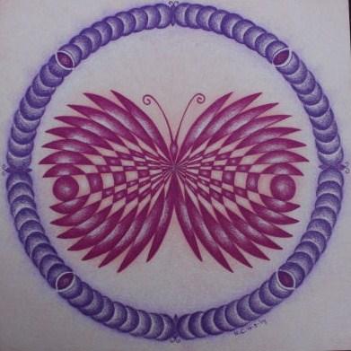 Graancirkel mandala's 1